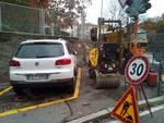 Cantù, piazza Garibaldi divisa in due dai lavori: la nuova viabilità
