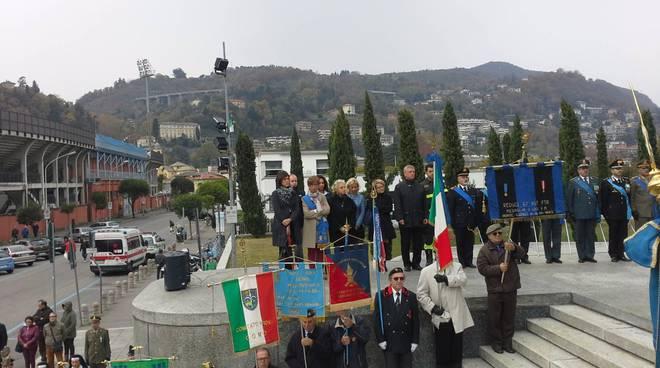 Celebrazione 4 novembre a Como: il saluto di sindaco e Prefetto