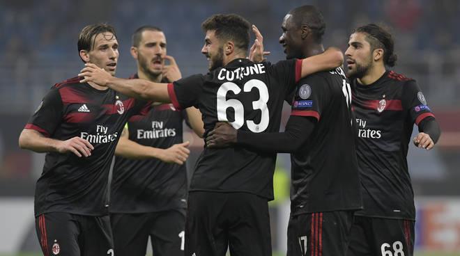 cutrone doppietta nel milan in europa league