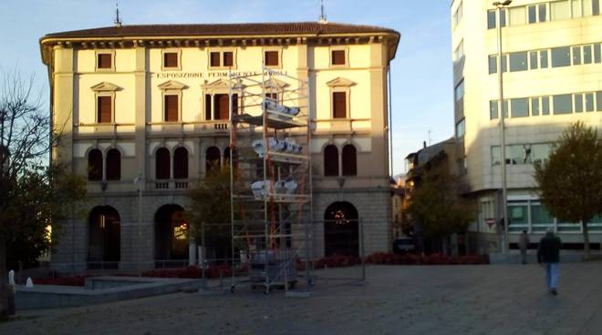 La città dei balocchi arriva anche a Cantù: pista in allestimento