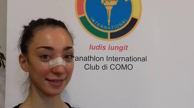 Alessia Giorano premio Panathlon