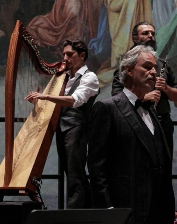 Fabius Constable e la Celtic Harp Orchestra