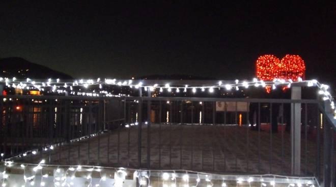 illuminazione ex biglietteria navigazione lago di como