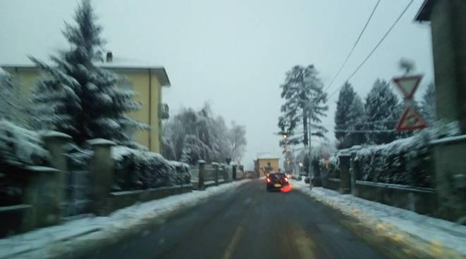 nevicata a como e provincia, la situazione di oggi