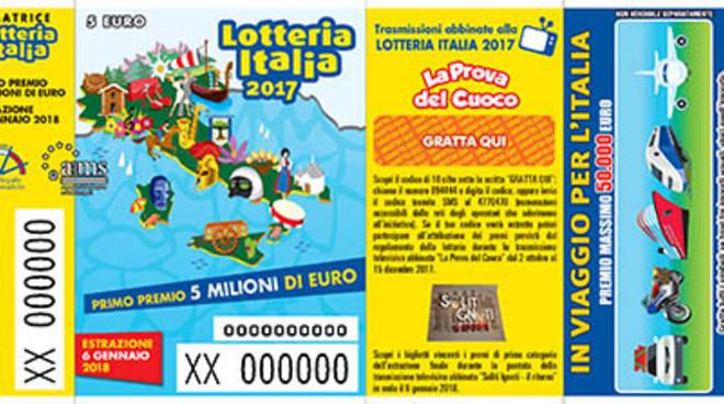 biglietti lotteria italia 2017/18 estrazione