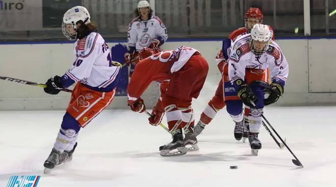 Hocjey Como sconfitto a Casate dall'Alleghe nella seconda fase del campionato
