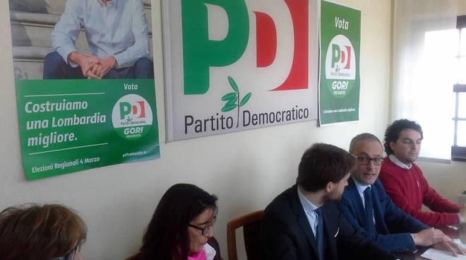 presentazione candidati pd per le regionali