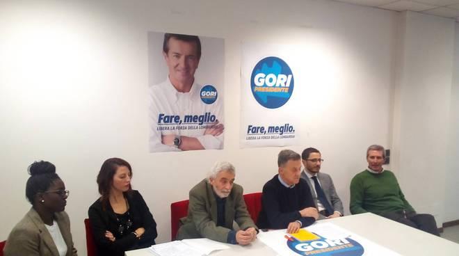 presentazione lista civica gori presidente per le regionali