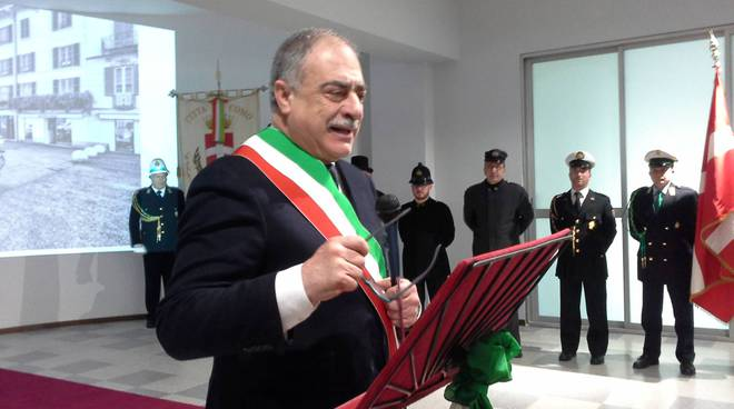 sindaco di como landriscina festa polizia locale como