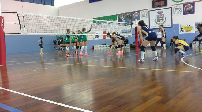 albesevolley sconfitta a Palau b1 femminile donne