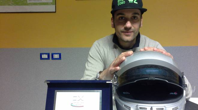 andrea bollini pilota formula junior in studio ciaocomo