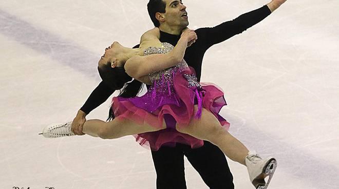 cappellin i - lanotte olimpiadi in cora pattinaggio su ghiaccio