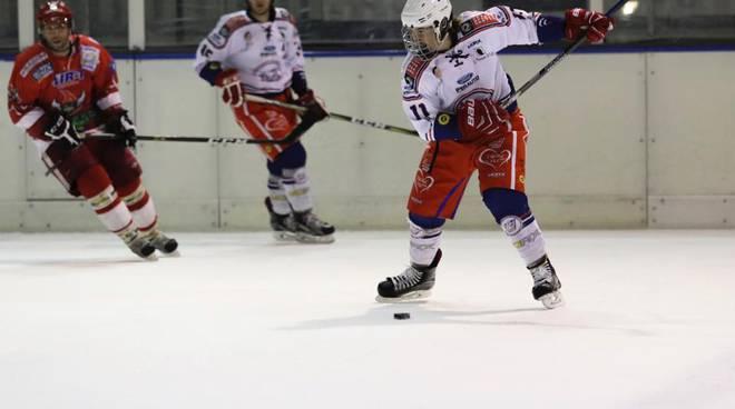 hockey como ad alleghe sconfitta 7-3