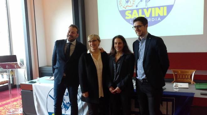 La Lega di Como presenta i suoi candidati per politiche e regionali 2018
