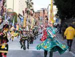 La seconda sfilata dei carri al Carnevale canturino