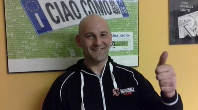 lorenzo mauri team motocorsa in redazion e a ciaocomo present stagione
