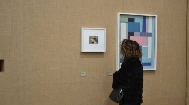 mostra arte italiana fondazione prada di milano opere esposte