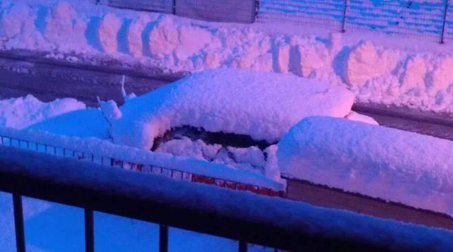 neve nel comasco anno 2013 da meteocomo - albiolo
