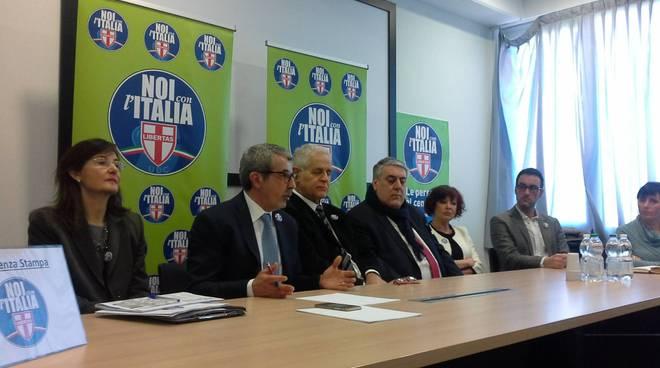 presentazione candidati noi per l'italia udc regionali