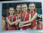 ragazze asd ginnica 96 di alzate gare provinciali