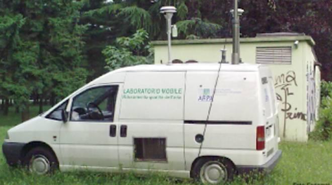 rilevazione qualità aria arpa lombardia laboratorio mobile