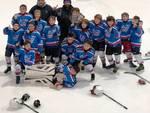 giovani hockey como in pista e in comune per protesta palazzetto