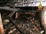 incendio mansarda como via spina verde appartamento