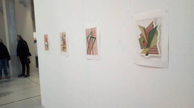 mostra san pietro in atrio ospiti d'arte con artisti cà d'industria