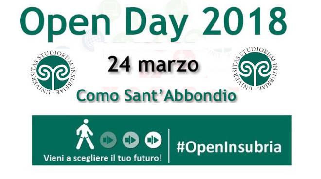 open day insubria
