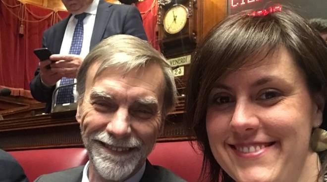 parlamentari comaschi primo giorno nuova legislatura a roma