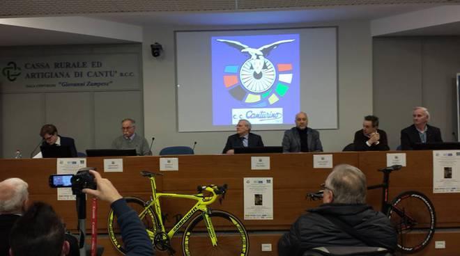 presentazione nuova stagione cc canturino ciclismo sede cassa rurale
