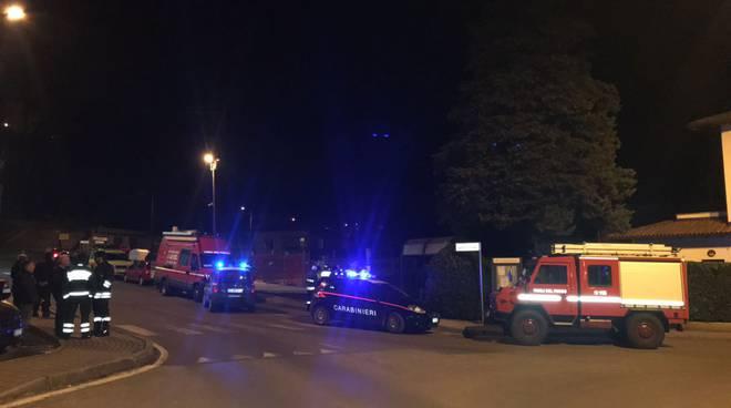 ricerche donna scomparsa a carlazzo, pompieri e soccorso alpino