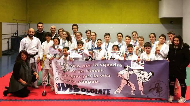 skorpions olgiate campionato italiano di karatè  tutti i partecipanti