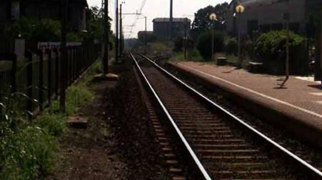 stazione di carugo esterno incidente ferroviario