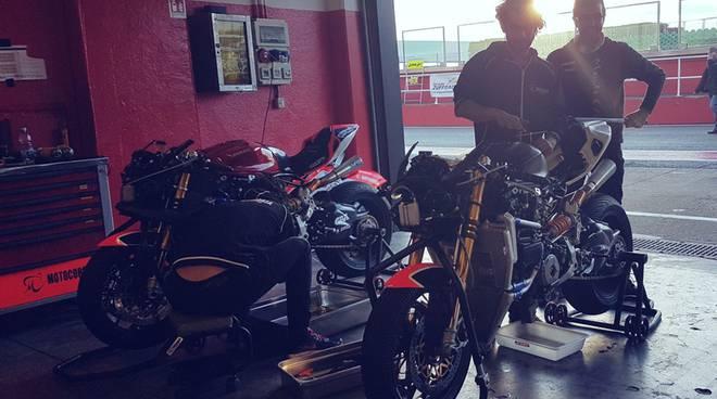 superbike 2018 team motocorsa, test pista di misano
