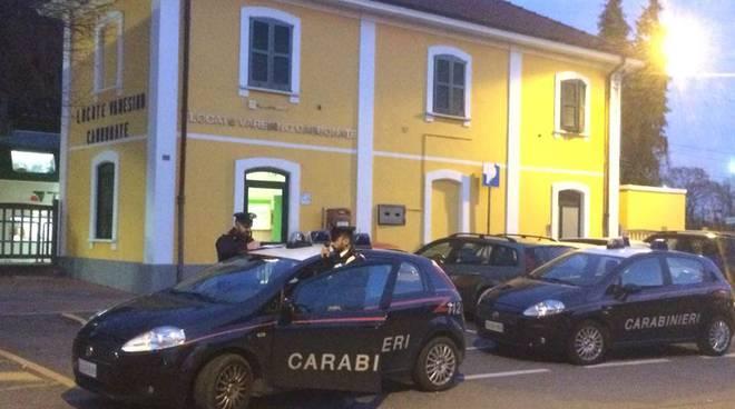 carabinieri stazione di mozzate e lomazzo generiche posti di blocco