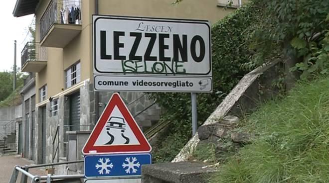 cartello generico di lezzeno cartello stradale
