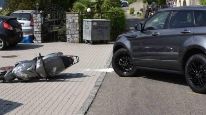 incidente strada cantonale campione, muore dipendente casinò in scooter da tio