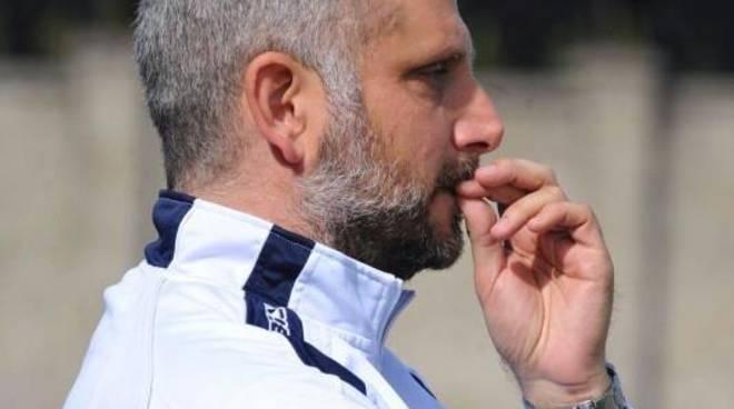 marco gaburro allenatore del gozzano calcio serie d