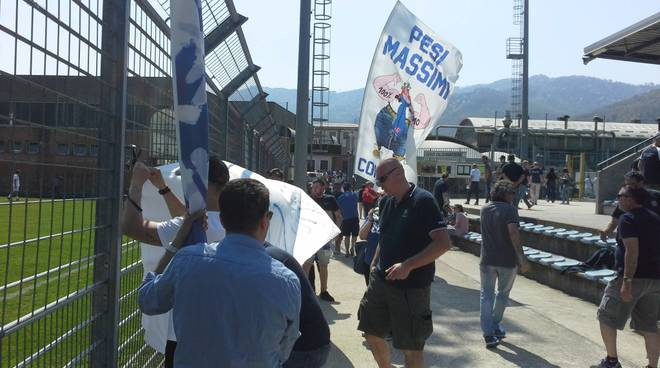 olginatese - como i tifosi azzurri allo stadio