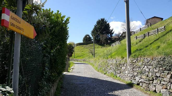 passeggiate creative sentiero camnago - garzola