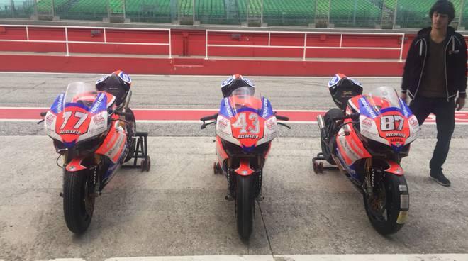 team motocorsa già a misano per nuova stagione del civ italia