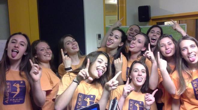 cs alba albesevolley ragazze promosse in prima divisione volley donne