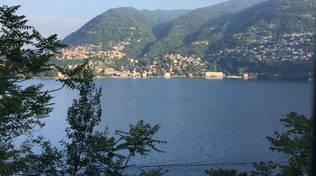 giornata di bel tempo sole sul lago generica per meteo