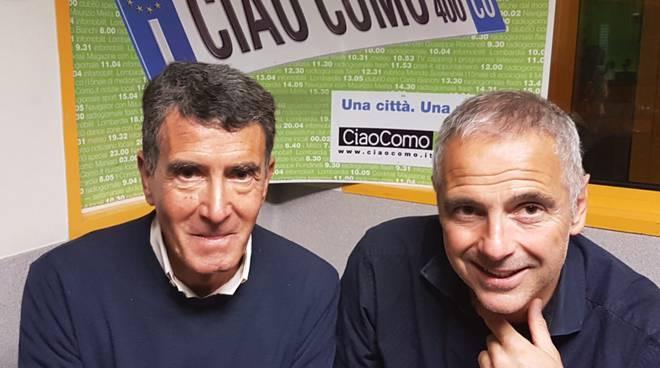 in studio a ciaocomo mister andreucci per presentare finale playoff