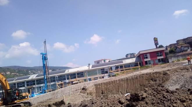 lipomo lavori per nuovo centro commerciale sulla statale