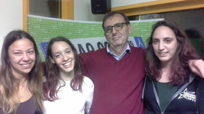 polisportiva comense promossa seconda divisione volley donne in studio