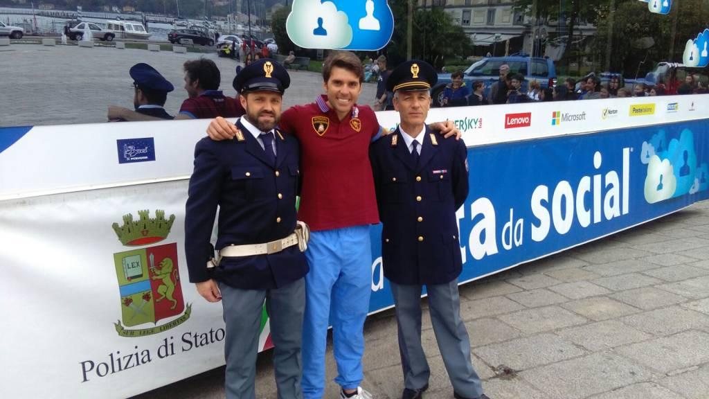 Una vita da social sbarca in centro Como: polizia e campioni contro ...