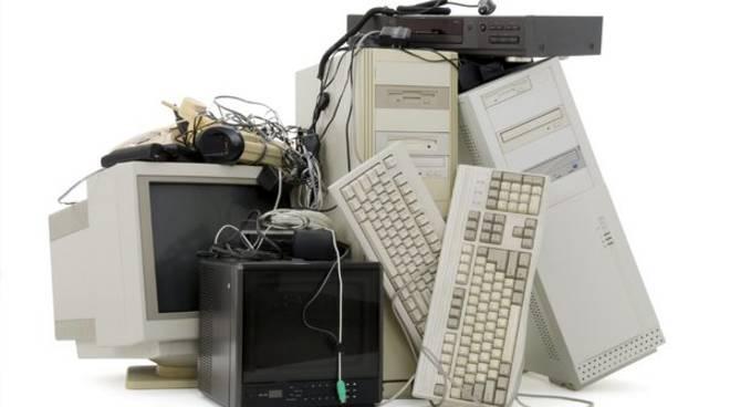 recupero riciclo apparecchi elettrici ed elettronici generico