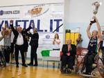 unipolsai vince scudetto basket carrozzina ad alba adriatica festa scudetto